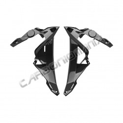 Carbon fiber radiator side panels for BMW S 1000 R 2014 2016 Performance Quality