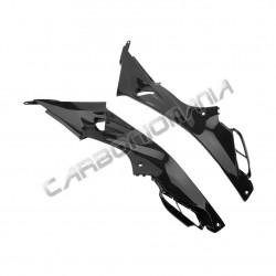 Carbon fiber side panels under fairing for BMW S 1000 R 2014 2018 Performance Quality