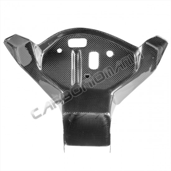 Carbon fiber air duct with upper fairing for BMW S 1000 RR 2009 2014 Performance Quality image