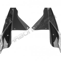 Carbon fiber slide panels with internal lugs for BMW S 1000 RR Performance Quality