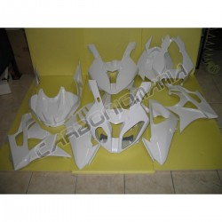 Glass resin racing motorcycle fairing for BMW S 1000 RR