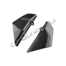 Carbon fiber side panels under tank for Ducati Scarambler 2015 2016 Performance Quality
