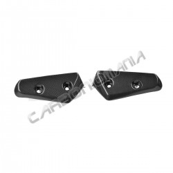 Carbon fiber front fender lateral cover for Triumph Speed Triple 2011 Performance Quality