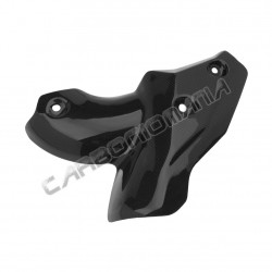 Carbon fiber exhaust cover for Ducati Streetfighter Performance Quality