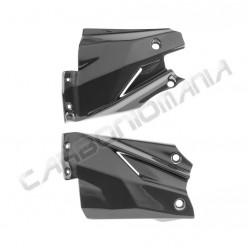 Carbon fiber radiator panels for Ducati Streetfighter Performance Quality