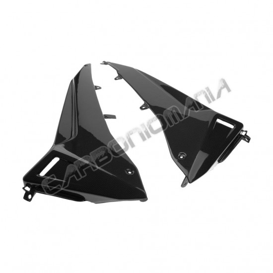 Carbon fiber ferrude panels for Yamaha TMAX 530 2012-2016 Performance Quality Yamaha, Tmax, Carbon, Performance Quality Line image