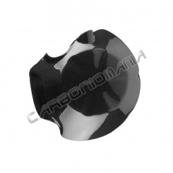 Carbon fiber close clutch cover for kawasaki Z 750 2007 2012 Performance Quality