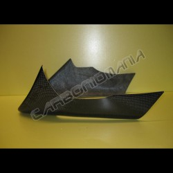 Carbon fiber side fairing for Kawasaki Z 750 2004 2006
