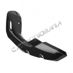 Carbon fiber exhaust cover for Kawasaki Z 800 2013 Performance Quality