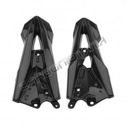 Carbon fiber frame cover for Kawasaki Z 800 2013 Performance Quality