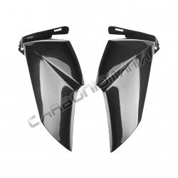 Carbon fiber radiator side panels for Kawasaki Z 800 2013 Performance Quality