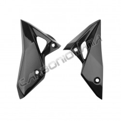 Carbon fiber side fairings for Kawasaki Z 800 2013 Performance Quality
