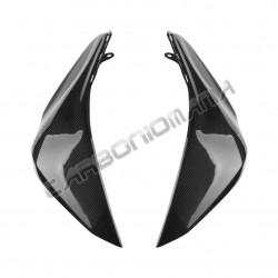 Carbon fiber tank side panels for Kawasaki Z 800 2013 Performance Quality