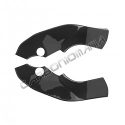 Carbon fiber frame cover for Kawasaki ZX-10 R 2004 2005