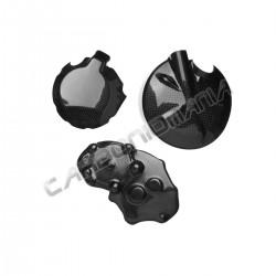 Carbon fiber carter cover for kawasaki ZX-10 R 2008 2010