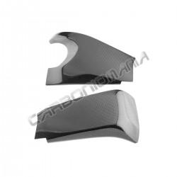 Carbon fiber swingarm cover for Kawasaki ZX 10R 2008 2010
