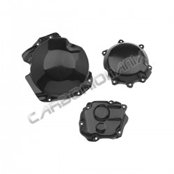 Carbon fiber carter cover for kawasaki ZX-10 R 2011 2015
