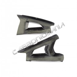 Carbon fiber swingarm cover for Kawasaki ZX 10R 2011 2015