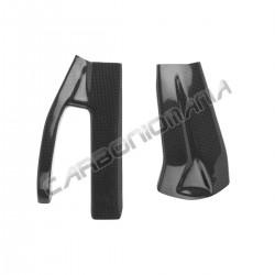 Carbon fiber swingarm cover for Kawasaki ZX-6R '05 '06