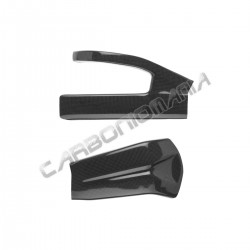Carbon fiber swingarm cover for Kawasaki ZX 6R 2007 2008