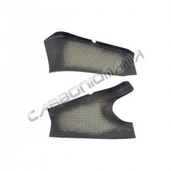 Carbon fiber swingarm cover for Kawasaki ZX-6 R 2009 2018