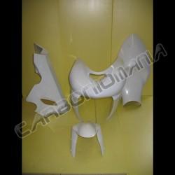 Glass resin racing motorcycle fairing for Kawasaki ZX-6R 2005 2006